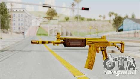 Galil Gold für GTA San Andreas