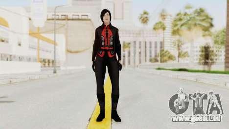 Batman Arkham Origins - Lady Shiva für GTA San Andreas zweiten Screenshot