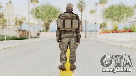 COD BO SOG Mason v2 pour GTA San Andreas troisième écran