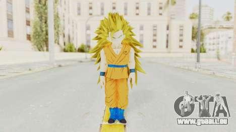 Dragon Ball Xenoverse Gohan Teen DBS SSJ3 v2 pour GTA San Andreas deuxième écran
