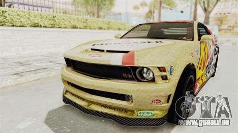 GTA 5 Vapid Dominator v2 IVF für GTA San Andreas Innen