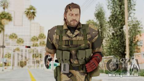 MGSV The Phantom Pain Venom Snake No Eyepatch v2 für GTA San Andreas