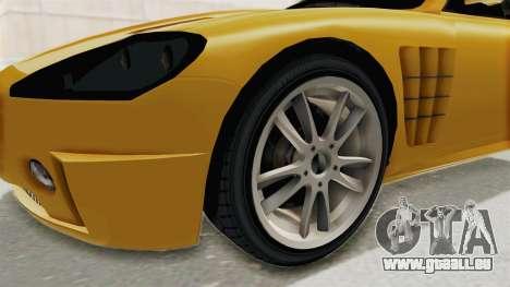 GTA 5 Ocelot F620 SA Lights pour GTA San Andreas vue arrière