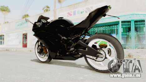 Kawasaki Ninja 250RR Mono Sport für GTA San Andreas linke Ansicht