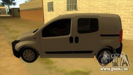 Fiat Fiorino Combi Mix pour GTA San Andreas laissé vue