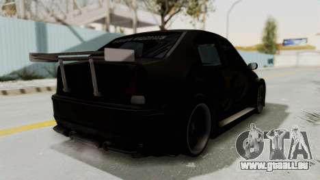 Dacia Logan Loco Tuning pour GTA San Andreas vue de droite