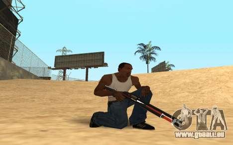 Shotgun Cyrex pour GTA San Andreas deuxième écran