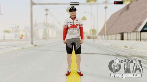 GTA 5 Cyclist 1 pour GTA San Andreas deuxième écran