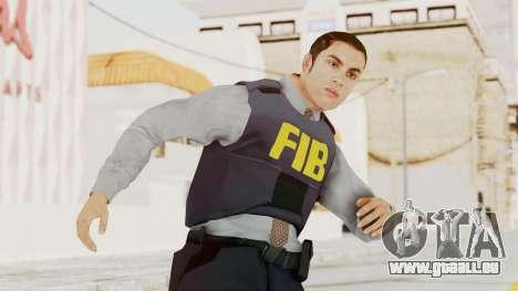 GTA 5 F.I.B. Ped für GTA San Andreas