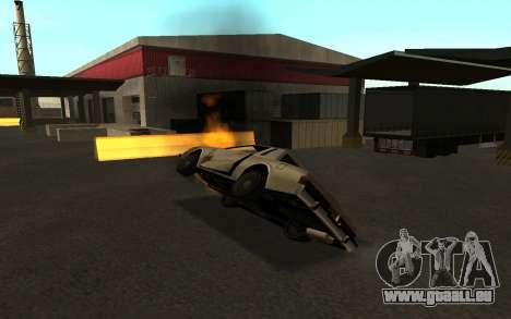 Flip machine pour GTA San Andreas cinquième écran