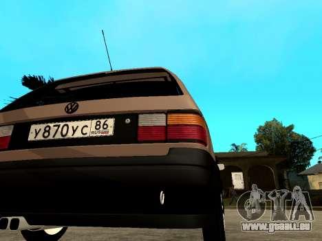 Volkswagen Passat B3 Variant pour GTA San Andreas vue de droite
