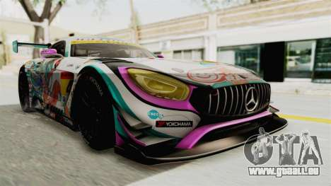 Mercedes-Benz SLS AMG GT3 2016 Goodsmile Racing für GTA San Andreas