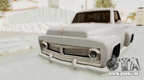 GTA 5 Slamvan Stock für GTA San Andreas