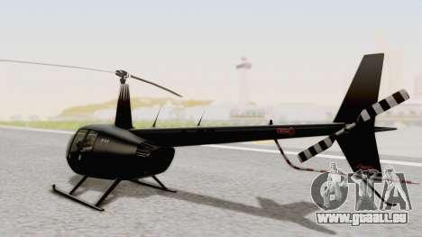 Helicopter de la Policia Nacional del Paraguay für GTA San Andreas linke Ansicht