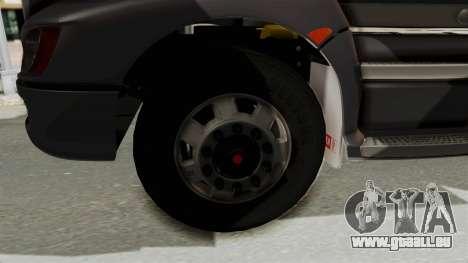 Kenworth T660 Sleeper für GTA San Andreas Rückansicht