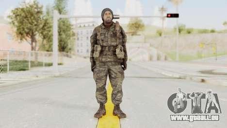 COD BO SOG Bowman v2 pour GTA San Andreas deuxième écran