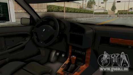 BMW 325i E36 Coupe pour GTA San Andreas vue intérieure