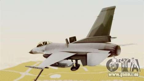 F-16 Fighting Falcon pour GTA San Andreas vue de droite