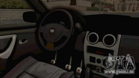 Dacia Duster 2010 Tuning pour GTA San Andreas vue intérieure