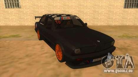 BMW 325i Turbo für GTA San Andreas Rückansicht