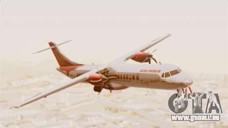 ATR 72-600 Air India Regional pour GTA San Andreas sur la vue arrière gauche