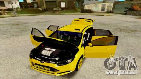 Ford Focus Taxi für GTA San Andreas zurück linke Ansicht