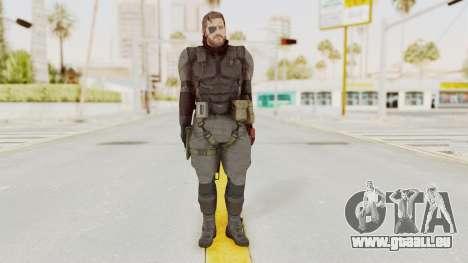 MGSV Phantom Pain Venom Snake Sneaking Suit für GTA San Andreas zweiten Screenshot