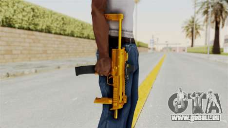 MP7A1 Gold für GTA San Andreas