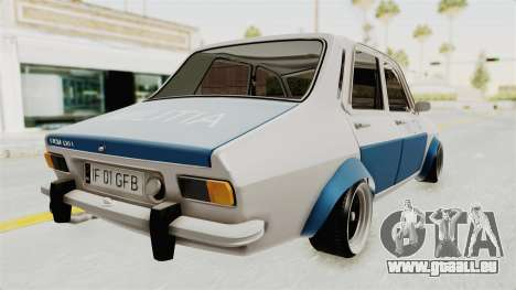 Dacia 1300 Stance Police für GTA San Andreas linke Ansicht