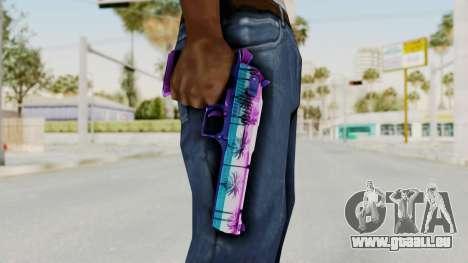 Vice Desert Eagle für GTA San Andreas dritten Screenshot