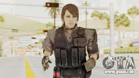 MGSV Phantom Pain Quiet XOF v1 für GTA San Andreas