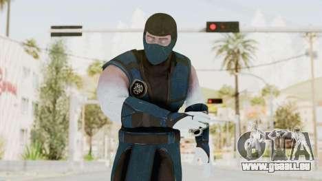 Mortal Kombat X Klassic Sub Zero v2 für GTA San Andreas