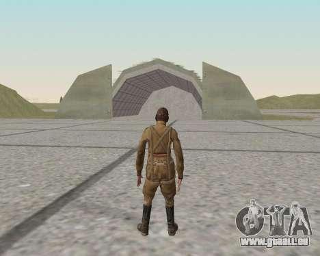 Pak Kämpfer der roten Armee für GTA San Andreas elften Screenshot