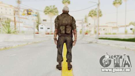 COD Black Ops 2 Hudson Commando pour GTA San Andreas troisième écran