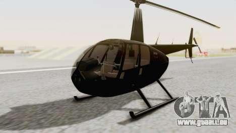 Helicopter de la Policia Nacional del Paraguay für GTA San Andreas