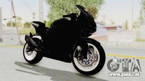 Kawasaki Ninja 250R Black Cobra RnB Anak Jalana pour GTA San Andreas vue de droite