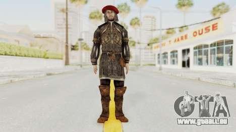 AC Brotherhood - Leonardo Da Vinci Fixed pour GTA San Andreas deuxième écran