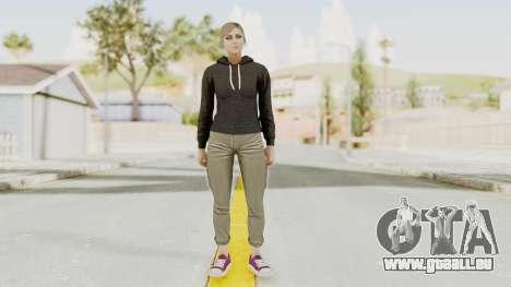 GTA 5 Online Female Skin 2 pour GTA San Andreas deuxième écran