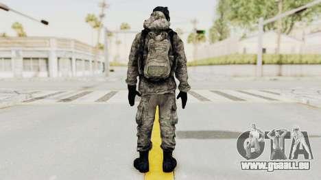 Battlefiled 3 Russian Engineer pour GTA San Andreas troisième écran