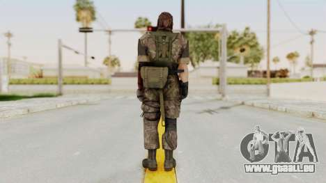 MGSV The Phantom Pain Venom Snake No Eyepatch v6 für GTA San Andreas dritten Screenshot