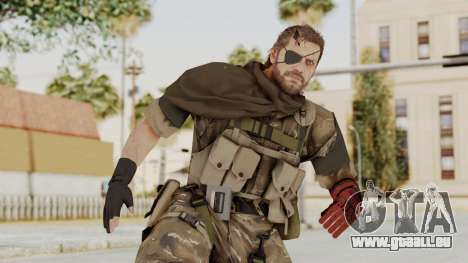 MGSV The Phantom Pain Venom Snake Scarf v9 für GTA San Andreas