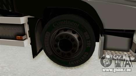 Volvo FM Euro 6 6x4 Tandem v1.0 pour GTA San Andreas vue de droite
