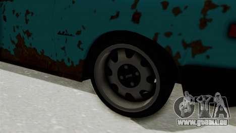Wartburg 353 Rat Style für GTA San Andreas Rückansicht