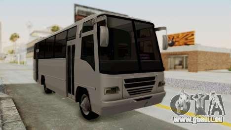 JGB Dranoga Agrale pour GTA San Andreas sur la vue arrière gauche