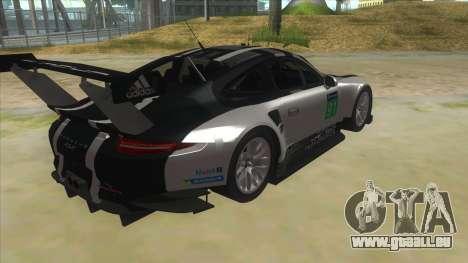 2016 Porsche 911 RSR pour GTA San Andreas vue de droite