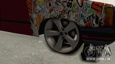 Renault Broadway für GTA San Andreas Rückansicht