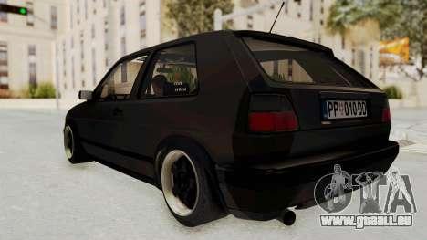 Volkswagen Golf 2 VR6 für GTA San Andreas rechten Ansicht