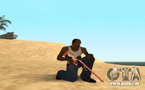 Rifle Cyrex für GTA San Andreas siebten Screenshot