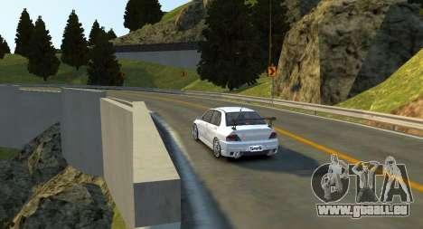Monument Hill Piste pour GTA 4