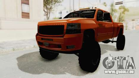 Chevrolet Silverado Long Bed pour GTA San Andreas